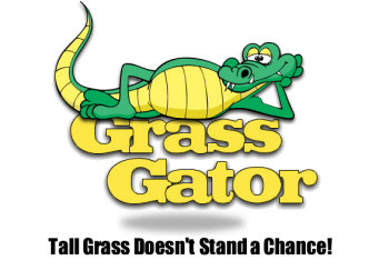 Grass Gators Lawn Care Logo