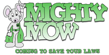 Mighty Mow Lawn Logo